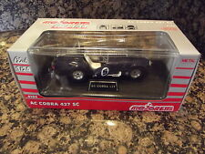 Die Cast Metal Majorette AC Cobra 427 FORD black SC 1:24
