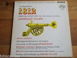 TCHAIKOVSKY - DORATI - 1812 / CAPRICCIO ITALIEN - LP - MERCURY - MMA 11057 - UK