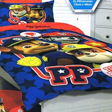 Paw Patrol - Top Pups - Double/US Full Bed Quilt Doona Duvet Cover set