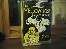 Ion Idriess - THE YELLOW JOSS - First edition - 1934 with original dust jacket