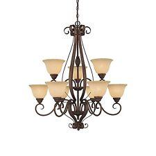 Millennium Lighting 1259RBZ 9 light chandelier rubbed bronze SALE REG $390