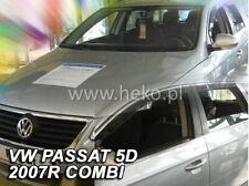 4 Deflettori Aria Antiturbo VW PASSAT B6/B7 VARIANT  2005-2015  5 porte