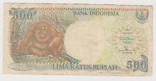 (H8-51) 1992 Indonesia 500 Rupiah bank note (B)