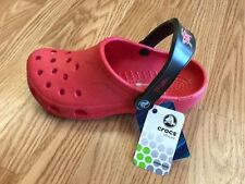 Maryland Terps Crocs Red L US 8-9