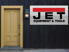 Jet Tools Equipment Vinyl Banner 2'x4' Garage or trade shows Ready Hang 13 OZ.