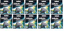 Gillette Mach3 Refills Razor Blades for Men - 8 Cartridges Mach 3 Shave