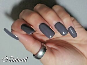 GEMEY MAYBELLINE Nail Polish Holding & Strong Pro 800 Grey Couture Holding 7 Jrs