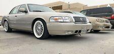 """[#F-150] 16"""" White wall Portawall Tire Trim 4pcs Fit Ford Mercury grand marquis"""