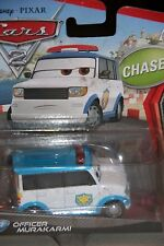 "DISNEY PIXAR CARS 2 ""OFFICER MURAKARMI"" CHASE, NEW IN PACKAGE"