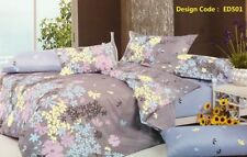 Bedroom 100% Cotton Pictorial Quilt Covers