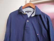 TOMMY HILFIGER Polo Manches Longues Marine Taille M