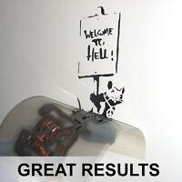 Banksy Rat Stencils *27 DESIGNS* Reusable Home Decor Paint Walls Ideal Stencils
