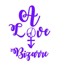 Prince Rogers Nelson - A Love Bizarre Decal + FREE Buy 1 Get 1