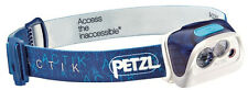Petzl Actik Headlamp Headtorch 300 Lumens Blue