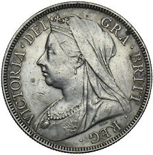 More details for 1898 halfcrown - victoria british silver coin - nice