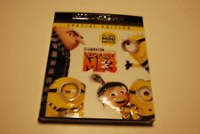 DESPICABLE ME 3 4K ULTRA HD + BLURAY + DIGITAL SPECIAL EDITION NEW W/SLIPCOVER