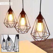Lampe à suspension noire Plafonnier Retro Lustre Design Lampe pendante 184500