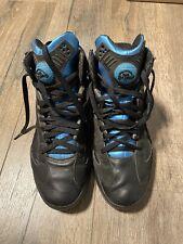 Reebok Pump Shaq Attaq Size 12 Retro Black Azure Orlando Magic Basketball Shoe