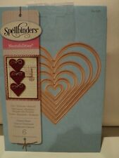 Spellbinders Nestabilities Clásico Corazón muere (6) S4-136 BNIP