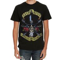 Guns N' Roses APPETITE FOR DESTRUCTION SKULL TOP HAT T-Shirt NEW 100% Authentic