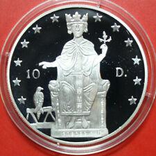 "Andorra: 10 Diners 1996 Silber Proof, KM# 119, PP, #F3436, ""Friedrich II."""