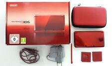 Nintendo 3ds (rojo) - muy buen estado-OVP incl. accesorios como paquete de accesorios