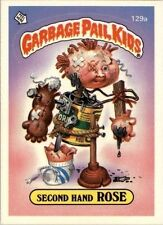 GARBAGE PAIL KIDS SERIES 4 SINGLE SECOND HAND ROSE 129a