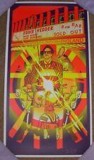 EDDIE VEDDER concert gig poster print LONDON 6-6-17 2017 pearl jam brad klausen