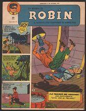 LA REVISTA DE ROBIN # 47 1951 - RARE Argentine Printed COMIC (Robin and Batman)