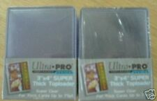 50 Ultra Pro Extra Thick Toploaders - Jersey Top Loaders - 75pt.