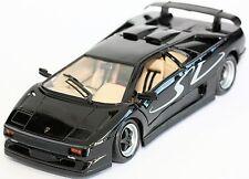 Diecast Cars Model 2000 LAMBORGHINI DIABLO SV SPORT MIDNIGHT BLACK 1:18 car