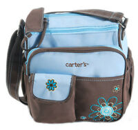 New Carter's Baby Diaper Nappy Bag Changing Mother Mummy Shoulder Handbag Blue