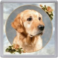 Golden Retriever Coaster Design No 1 by Starprint