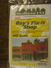 "Smalltown USA HO #699-6009  Roy's Fix-It Shop 4-3/4 x 2-3/4"" 11.9 x 6.9cm"