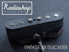 'Vintage 58 Telecaster' Handwound Pickups Set by Radioshop Pickups