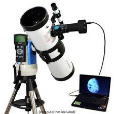"NEW White 4.5"" Computerized GoTo Telescope with 3 Megapixel Digital USB Camera"