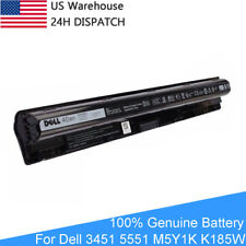 OEM Original Genuine Dell 3451 M5Y1K 4 Cell Laptop Battery 14.8V 40WH Free Ship
