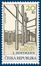 S620-2-2 Czech Common issue with Belgique: Architecture  SET 2007