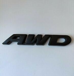 Noir AWD Métal Emblème Badge Tout Direction Pour Subaru XV Impreza Forester Brz