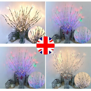 Romantic Twigs with LED Lighted Tree Branch Decorative Twig Waterproof Bead Lamp