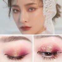 Single Shimmer Glitter Lidschatten Kosmetik Make-up wasserdicht langlebig