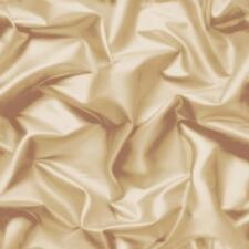 Muriva Gathered Silk Effect Wallpaper Gold - F72907 Coffee Cream Beige Decor