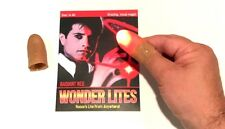 Wonder Lite Magic Light Thumb Tips Pair Finger Appearing Magician Red Led D Toy