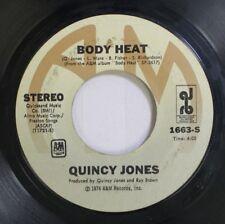 Jazz 45 Quincy Jones - Body Heat / One Track Mind On Quicksand Music
