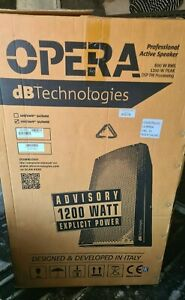 Opera 15 DB Technologies 1200W Active PA Speaker - Built in DSP!!