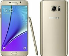 Samsung Galaxy Note 5 - 32GB - Gold - Factory Unlocked; AT&T / T-Mobile / Global
