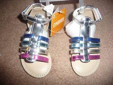 NWT Gymboree Rainbow gladiator Sandals Shoes toddler girl size 6 NEW