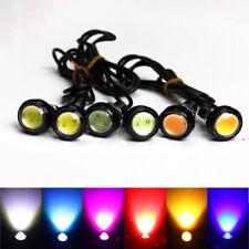 2Pcs LED Eagle Eye Car Daytime Running Light 18mm Reversing Parking Lamp 10W 12V