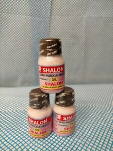 2x Shalom Effective Dark Knuckle Removal Oil
