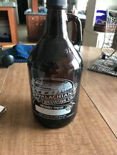 Appalachian Brewing Co. Growler 64 oz Harrisburg PA Brown Glass Bottle